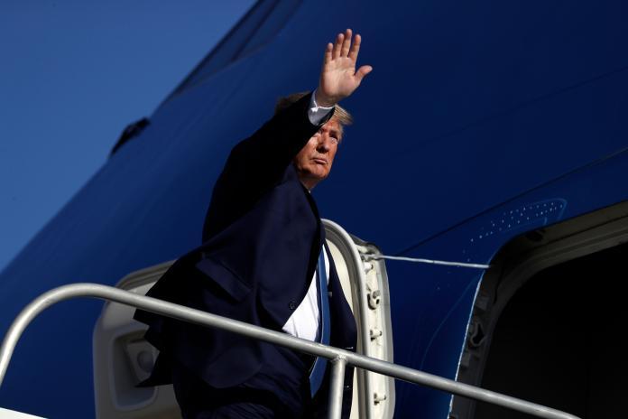 ▲美國總統川普宣稱制裁伊朗有「終極選項」。資料照。(圖/美聯社/達志影像)