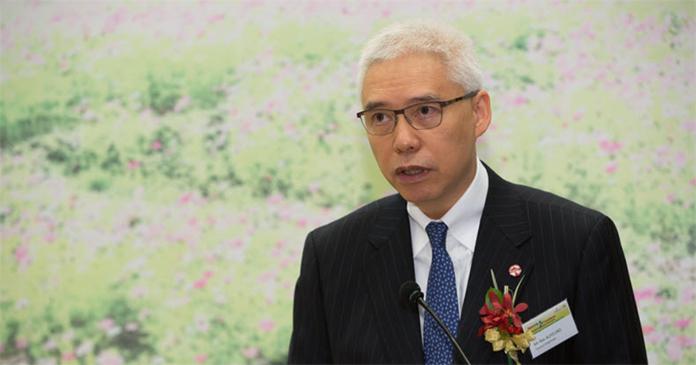 ▲香港鐵路公司主席歐陽伯權(圖/翻攝立場新聞)