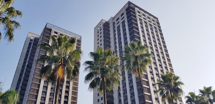 ▲根據信義房屋公布的大台北房價指數,7月台北市房價指數年增率負成長,值得後續關注。(圖/信義房屋提供)