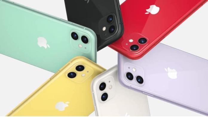 ▲蘋果公司於昨( 20 )日在台開賣 iPhone 11 全系列手機。(圖/ 翻攝自臉書)