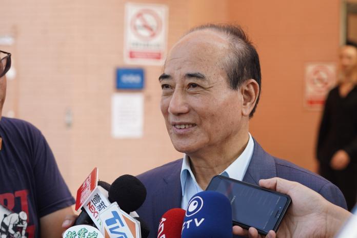即便沒參加獨立參選的連署,王金平仍堅稱他會選到底。 (圖/王金平辦公室提供)