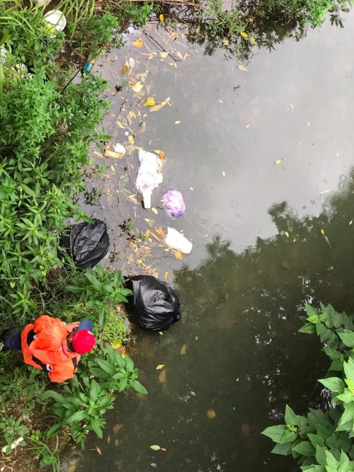 一張超商網購取貨收據露餡 亂丟垃圾到河床被鎖定