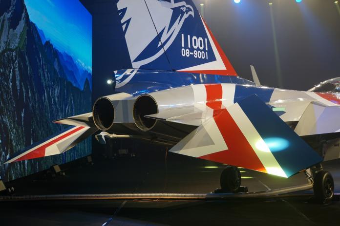 ▲「勇鷹」高教機採用F124-200TW發動機,而非經國號戰機採用的F125z發動機。(圖/記者呂烱昌攝,