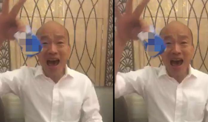 韓國瑜直播拿<b>香菸</b>酸綠營! 挺韓名嘴驚:他需要政治幕僚