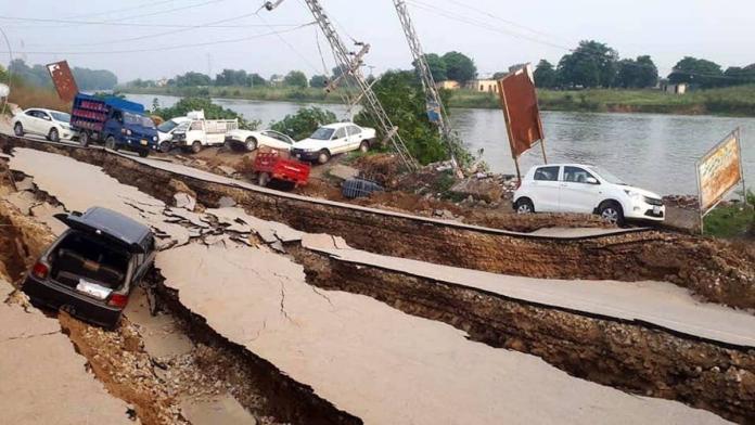 天崩地裂!巴基斯坦5.8<b>強震</b>「22死300傷」 居民驚惶逃難