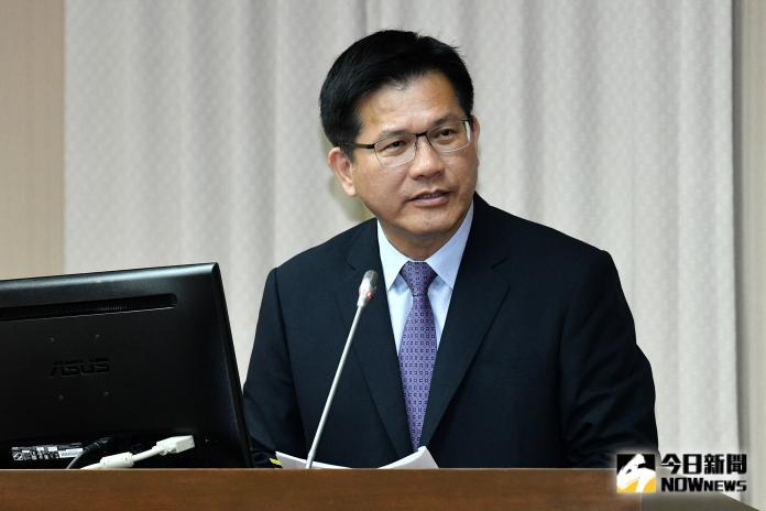 交通部長林佳龍至立法院交通委員會專題報告並備詢。(圖/記者林柏年攝,2019.9.25)