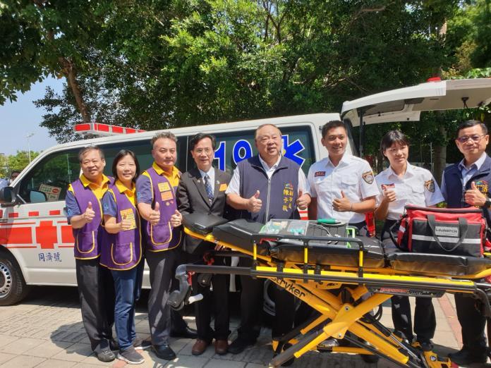 國際同濟會熱心公益 捐贈高階救護車提升救護品質