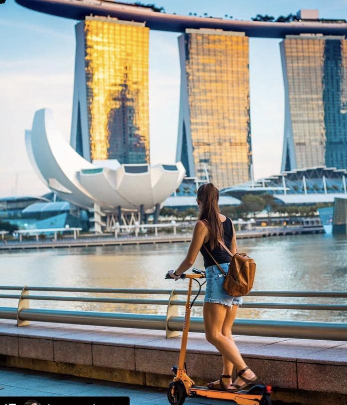 創立於新加坡的Neuron共享電動機車已經成為東南亞共享機車領頭羊。(圖翻攝自IG:neuron_mobility)