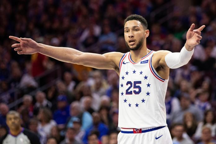 76ers Simmons Basketball
