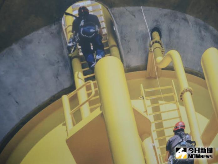 <br> ▲沃旭能源在台灣培養離岸風場專業運維技師。(圖/記者陳雅芳攝,2019.09.26)