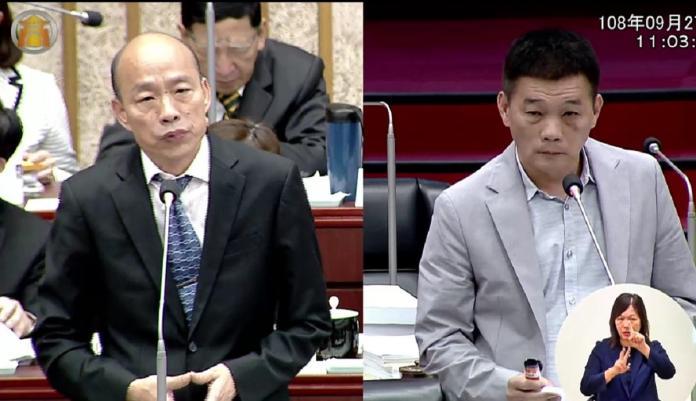 ▲高雄市長韓國瑜表示,去年選上巿長之後絕對沒有選總統的想法,但一連串的變化,他只能說是民意與天意,這個變化實在太大。(圖/高市議會提供)