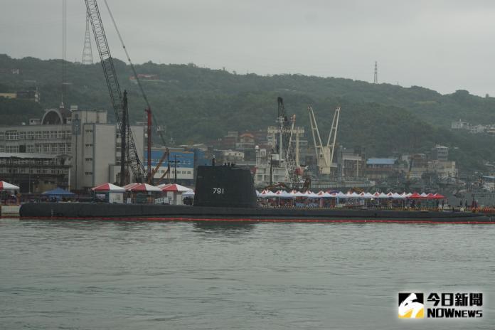▲全球最老潛艦,海軍「海獅號」潛艦完成大修後,28日將於基隆營區基地開放供民眾登艦參觀。(圖/記者呂炯昌攝,
