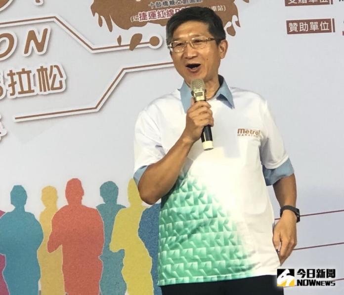 ▲高雄捷運公司副總經理賀新跑步後疑因心肌梗塞猝死。(圖/記者黃守作攝)