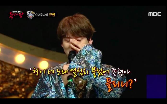 SJ圭賢「自責沒照顧鐘鉉」淚崩 唱歌給他:你聽到了嗎?