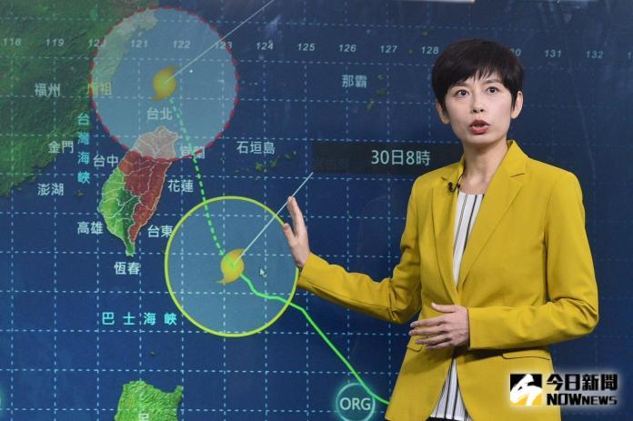 警戒範圍加大!米塔颱風不排除登陸台灣 午後防大豪雨
