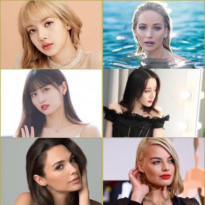 <br> ▲其他入圍全球百大美女名人。(圖/翻攝IG)