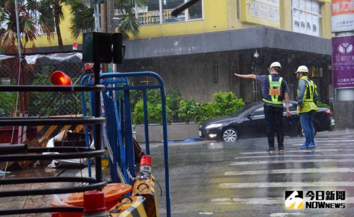 米塔狂風暴雨襲台 累計曾停電25294戶