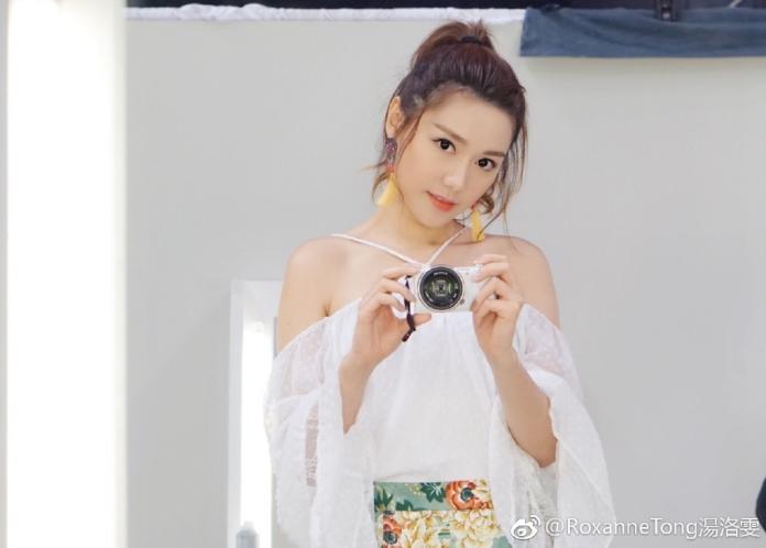 <br> ▲香港女演員湯洛雯。(圖/翻攝微博)