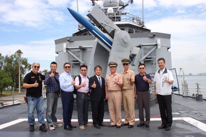 ▲ 海軍子儀軍艦提供
