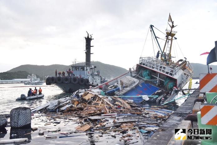 南方澳大橋擋556艘漁船 漁業署:短期魚貨供應無虞