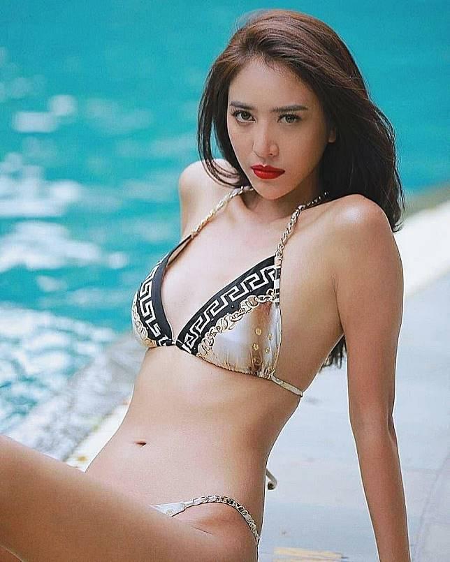 ▲「百萬粉絲正妹」Namwan Raknapak在泰國挺有名的。(圖/翻攝Namwan Raknapak IG)