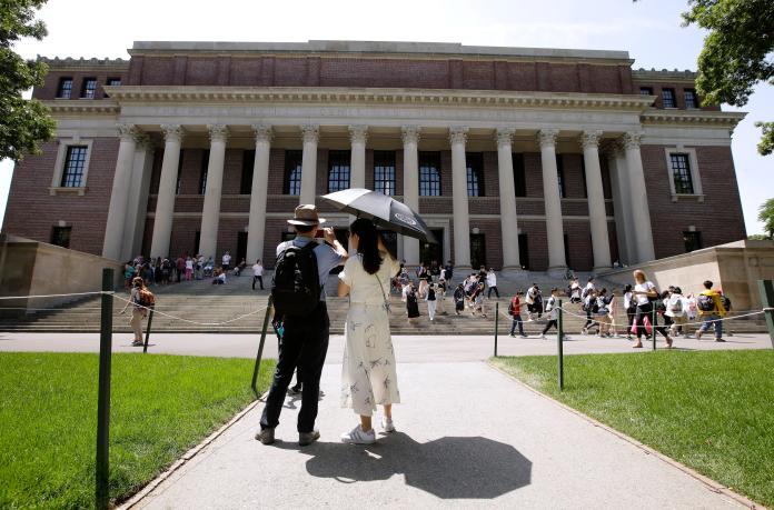 ▲麻州聯邦地方法院對哈佛大學是否歧視亞裔一事,做出判決。資料照。(圖/美聯社/達志影像)