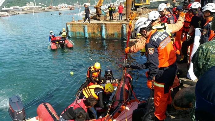 上午8時45分再尋獲遺體 證實為菲律賓籍29歲漁工