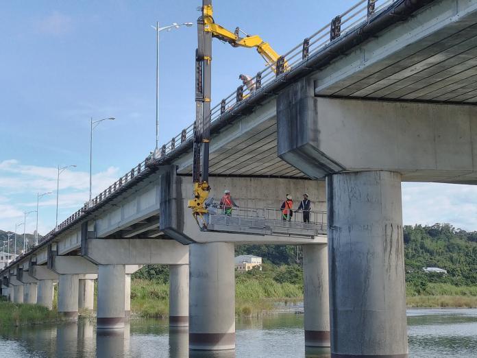 中市檢修護橋梁  15座鋼索橋梁完成檢測