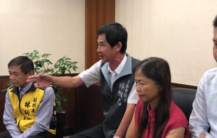 無黨團結聯盟總召林阳乙痛批,只是提出補助建議,就遭惡意抹黑。