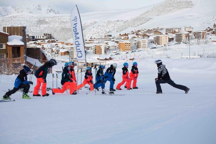 ▲Club Med和我國滑雪滑草協會合作培訓選手。(圖/主辦單位提供)