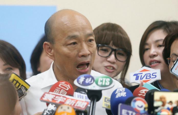 韓國瑜酸蔡政府:都是抽得起私菸、掉得了300萬的狠角色