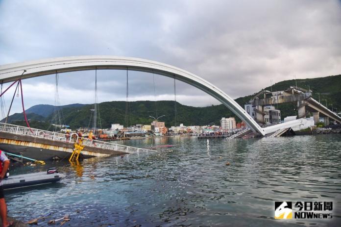 南方澳大橋啟動拆除 未來大橋重建估3年內完成