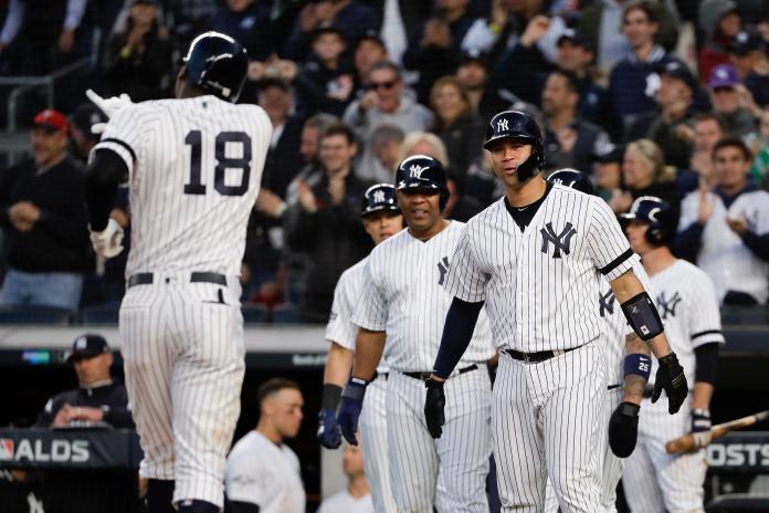ALDS Twins Yankees Baseball