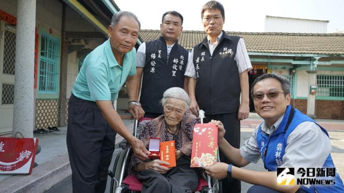 北港人瑞103歲耳聰目明 魚肉蔬菜都吃多走動曬日光