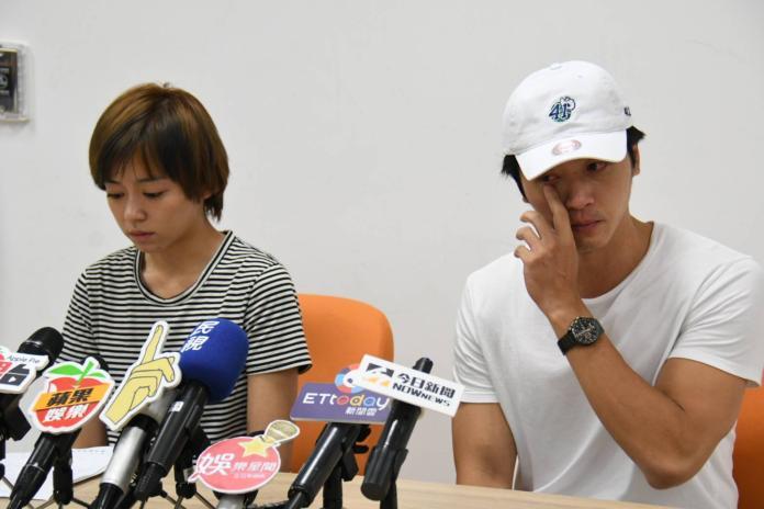 ▲王瞳、馬俊麟一同開記者會說明婚外情,沒想到招來反效果。(圖/資料照)