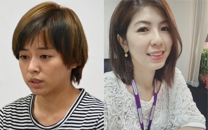 ▲律師李怡貞(右圖)發表對馬王事件心得。(圖/資料照、臉書)