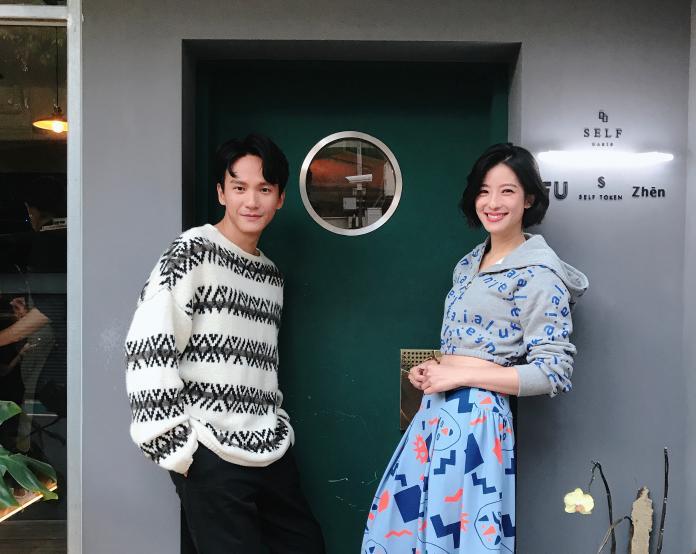 ▲《聖人大盜》賴雅妍、曹晏豪專訪(圖/ilook電影雜誌)