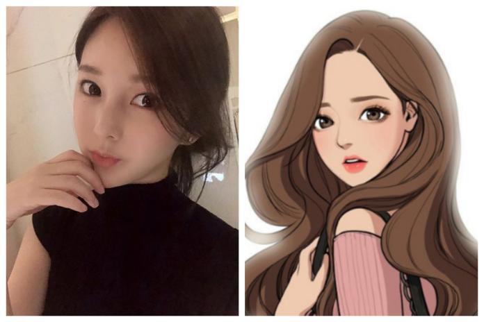 <br> ▲南韓超人氣網路漫畫《女神降臨》的美女作者比基尼照曝光。(圖/翻攝自 야옹이 IG)