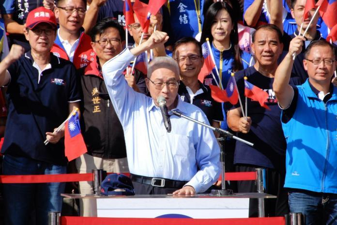 國民黨主席吳敦義。( 圖 / 記者陳弘志攝 )
