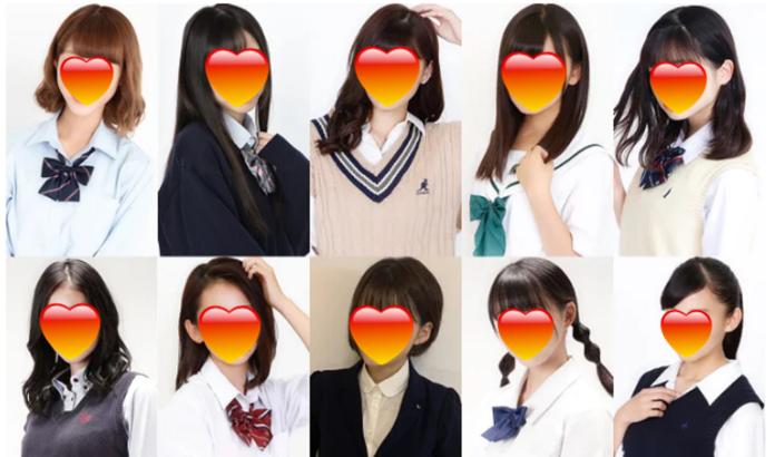 ▲日網友狠狠吐槽最可愛高中生前十名。(圖/翻攝 Modelpress )