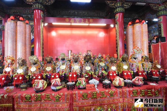 <br> ▲13尊媽祖首次在伸港福安宮舉行聯合祈福典禮。(圖/記者陳雅芳攝,2019.10.13)