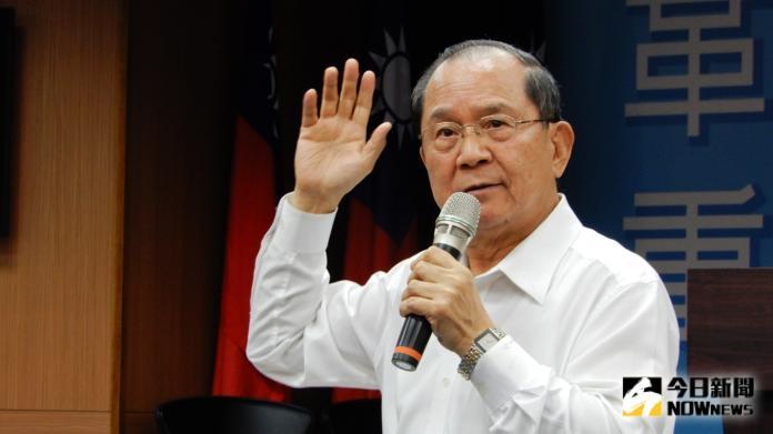 負責選戰主軸的國民黨副祕書長兼組發會主委杜建德。( 圖 / 記者陳弘志攝 )