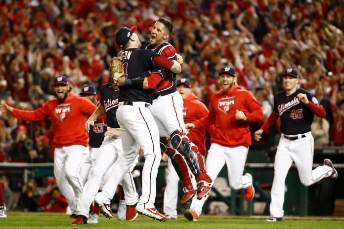 MLB/奇蹟!隊史首座聯盟冠軍 國民橫掃紅雀晉世界大賽