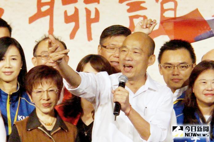 高雄市長韓國瑜。( 圖 / 記者呂炯昌攝 )