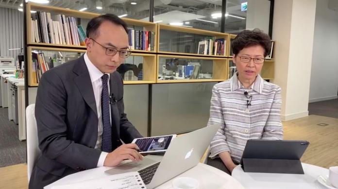 首度臉書直播回應港人 林鄭月娥:其餘4項訴求難答應