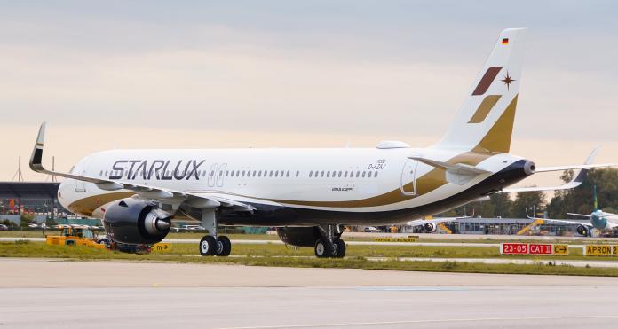 獨/星宇航空首架A321neo抵台 超限量<b>模型</b>機101搶先曝光
