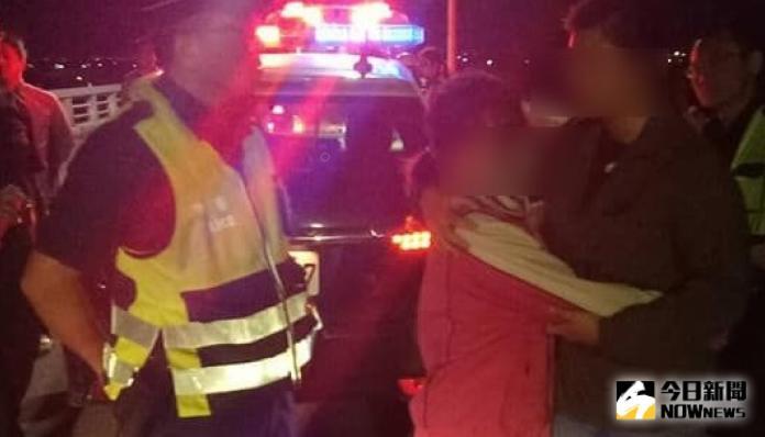 <b>夫妻失和</b>婦人欲尋短 暖警跨轄救援