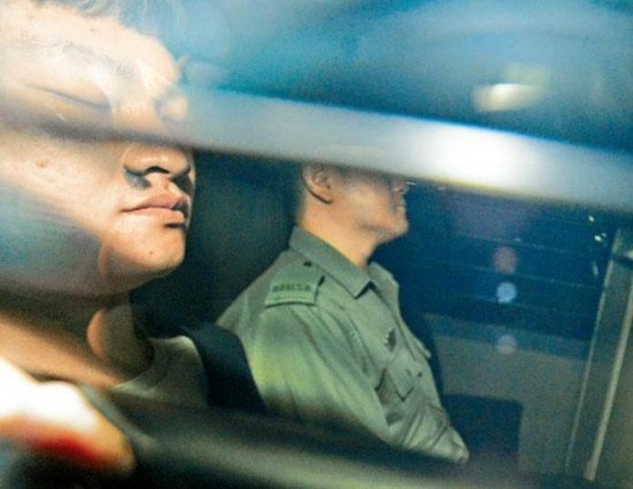 ▲涉嫌在台灣殺害潘姓女友的香港疑兇陳同佳(左),因洗黑錢罪服刑 29 個月後,將於 23 日出獄。(圖/翻攝自星島日報)