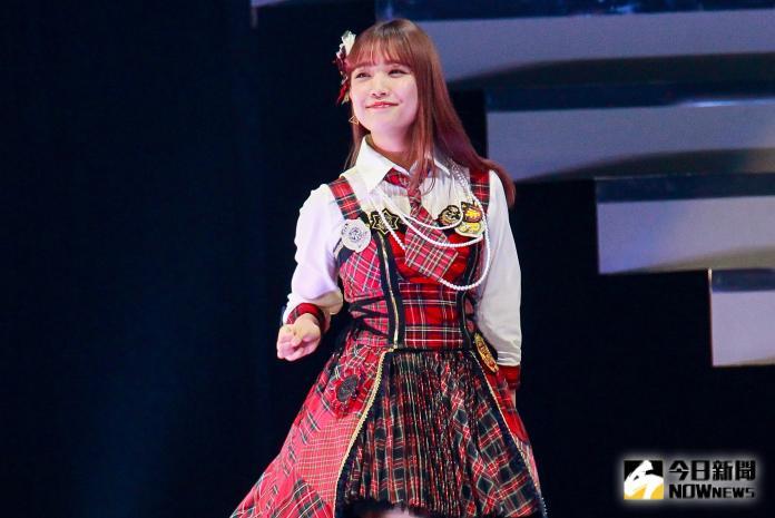 ▲AKB48台北演唱會,成員加藤玲奈。(圖/記者葉政勳攝 , 2019.10.19)