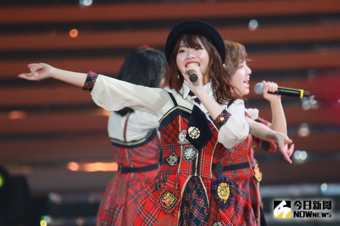 ▲AKB48台北演唱會,成員馬嘉伶。(圖/記者葉政勳攝 , 2019.10.19)